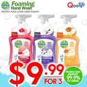 [RB] 【BUNDLE OF 3 NEW SCENT】Dettol – Antibacterial pH-Balanced Disinfectant and Germicidal Hygiene Liquid Foaming Hand Wash / Soap | Kills 99.9% of Everyday Germs | Gentle for sensitive skin