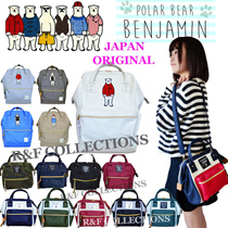 *ORIGINAL JAPAN 2WAY SLING BAG*POLAR BEAR BACKPACK*BOSTON BAG*SUN EARTH and U*JAPAN HOT SELLING BACKPACK*SUITABLE FOR LADY GIRL STUDENTS DAILY USE FASHION UNIQUE DESIGN