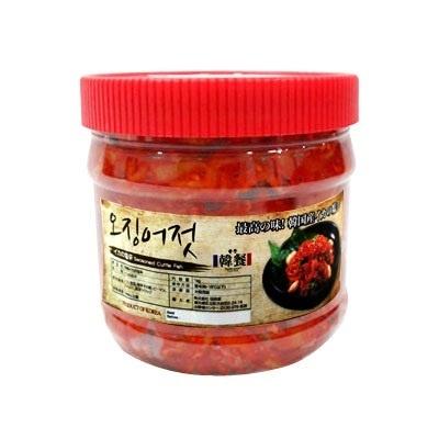 『韓餐』いかの塩辛・韓国産(1kg)[惣菜][韓国おかず][韓国塩辛][韓国料理][韓国食品]の画像