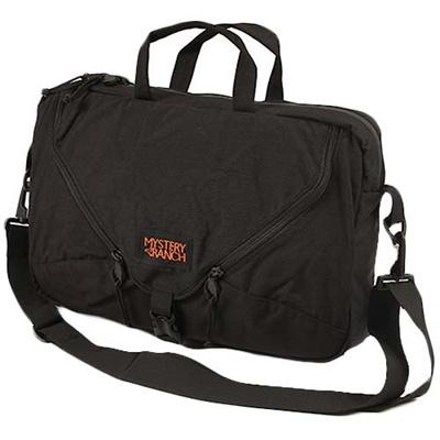 ミステリーランチ(MYSTERY RANCH) 3 Way Briefcase 3ウェイブリーフケース ブラック(Black) 【ビジネスバッグ 手提げ 肩掛け かばん】の画像