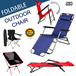 ★JIJI_SG★ ◣FOLDABLE OUTDOOR CHAIR◥ ★Padded ★Portable ★Multi-Functional ★Adjustable ★Camping ★Hiking ★Fast Delivery