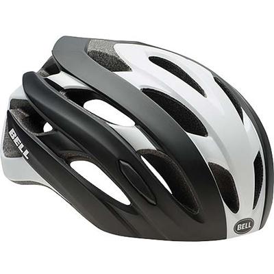 ベル(BELL) ヘルメット EVENT / イベント ROAD SPORTS マットブラック/ホワイトロードブロック 【自転車 サイクル レース 安全 二輪】の画像