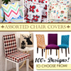 【200+ designs!】Cushion case! Stretchable Chair Cover★ universal Sofa cover!