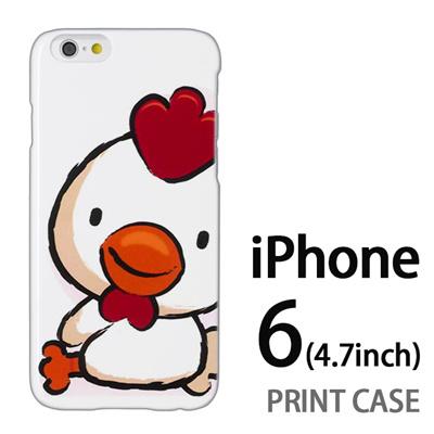 iPhone6 (4.7インチ) 用『0723 干支 酉』特殊印刷ケース【 iphone6 iphone アイフォン アイフォン6 au docomo softbank Apple ケース プリント カバー スマホケース スマホカバー 】の画像