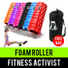 ⏰💪★★Premium Quality EVA Grid Foam Roller With PVC Pipe★★Not Cardboard★★Yoga★★Pilates★★Deep Tissue Massage★★Gym Fitness Exercise★★Trigger Point★★Aerobics★★Singapore Seller★★Fast Delivery★★