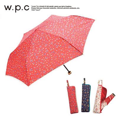 ワールドパーティー W.p.c 折りたたみ傘 フラワージッパー miniの画像