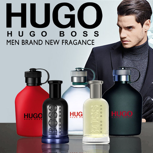 TESTER HUGO ICED / HUGO RED/ JUST DIFFERENT / THE SCENT / HUGO EXTREME /BOSS BOTTLED MEN EDT 125 ML Deals for only S$129 instead of S$0