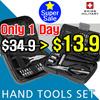 [SWISS MILITARY] Mini hand tools Set / 18pcs 19pcs / Home office Use Tool / Long Nose Flyer