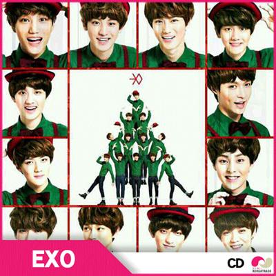 【安心国内発送】【予約12/9】【バージョン選択可能】 EXO(12月の奇跡)スペシャルアルバムの画像