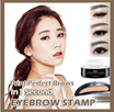 EYEBROW STAMP POWDER /NATURAL SHAPE PERFECT EYEBROW/ EYEBROW POWDER CAKE
