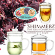 Shimmers Borosilicate Glass Cups - SHIMMERS FINE GLASS COLLECTION