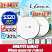 ENGENIUS EnMesh Whole-Home Wi-Fi Mesh System.No Wires to Run or Software to Set up.Full Network Insight.True Mesh Link Technology Eliminating Dead Spots Buffer Lag. Local 3 Years Warranty!