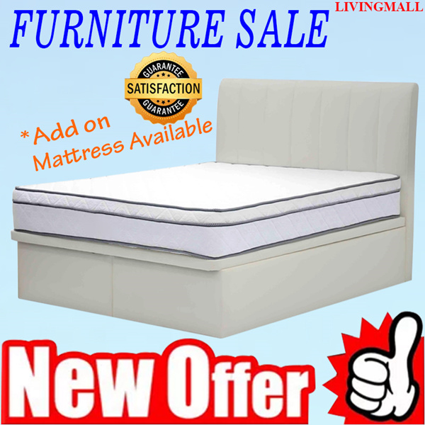 [LIVINGMALL-19005] *STORAGE BEDFRAME* FREE DELIVERY AND FREE INSTALLATION!!! LOWEST PRICE AND LIMITED OFFER!!! Deals for only S$1099 instead of S$0