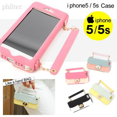 ハンドバッグ風 iPhoneケース [iPhone5/5s対応]  スマホケース/スマホアクセ/レディース 418921 取寄商品の画像