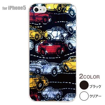 【iPhone5S】【iPhone5】【アルリカン】【iPhone5ケース】【カバー】【スマホケース】【クリアケース】【その他】【アフリカン テキスタイルパターン】 01-ip5-con055の画像