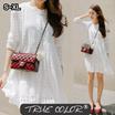 [TRUE COLOR] Lovely White Lace  Dress/ WOMEN-S-3