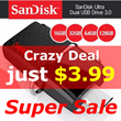 [JGT Super Deal]SanDisk Ultra dual 16GB / 32GB / 64GB / 128GB USB 3.0 OTG Flash Drive with micro USB
