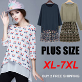【23rd Aug UPDATE】Fashion Style Plus Size Dress/Blouse/Suit *Free shipping over RM69 of purchase*