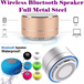 Portable Subwoofer Shower Sweatproof Waterproof Wireless Sports Bluetooth Speaker Car Handsfree Receive Call Music Suction Phone Mic For iPhone/Earpiece Headset Touchscreen Design