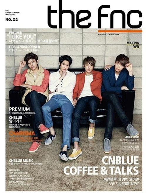 【クリックで詳細表示】The FNC Vol.2 : CNBLUE Cover (5000EA Limited Ed.) Photobook + DVD + Free Photo