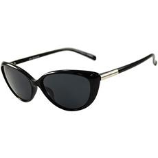 シーガル(SEAGULL) SGB-4051-01 偏光レンズ サングラス シャイニーブラック/シルバーパーツ 【ランニング サイクル ゴルフ アイウェア】