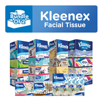 [BUNDLE OF 2] KLEENEX Facial Tissue 3PLY