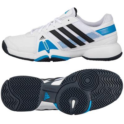 アディダス (adidas) barricade team 3(ランニングホワイト×ナイトシェイド F13×ソーラーブルー S14) F32351 [分類:テニス オールコート用]の画像