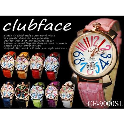 club face トップリューズ式 レディース腕時計 全10色の画像