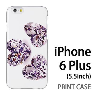 iPhone6 Plus (5.5インチ) 用『0115 3つのガラスのハート』特殊印刷ケース【 iphone6 plus iphone アイフォン アイフォン6 プラス au docomo softbank Apple ケース プリント カバー スマホケース スマホカバー 】の画像