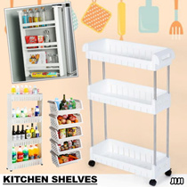 ◣KITCHEN ESSENTIAL◥ ★Movable Kitchen Shelves ★Kitchen Rack ★Kitchen Storage ★Durable ★Space Saver ★Fast Shipping ★Cheap