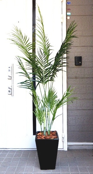 ●代引き不可送料無料アレカパーム人口観葉植物 造花の画像