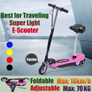 Super Light Electric Foldable Scooter/Max Speed 18km/h/Local Seller/No AC Adaptor