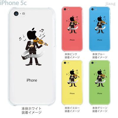 【iPhone5c】【iPhone5c ケース】【iPhone5c カバー】【ケース】【カバー】【スマホケース】【クリアケース】【クリアーアーツ】【Clear Arts】【バイオリン】 10-ip5c-ca112の画像