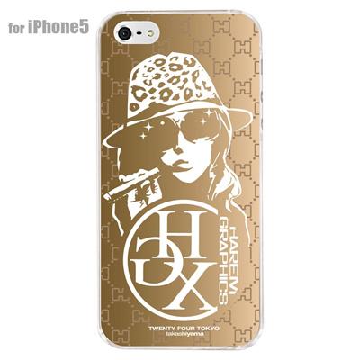【iPhone5S】【iPhone5】【HAREM graphics】【iPhone5ケース】【カバー】【スマホケース】【クリアケース】 HGX-IP5C-005Dの画像