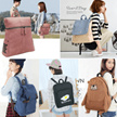 [SG Seller] Korea/Japan design unisex backpack and school bags/Gift/Personalized/Customized/Traveler Bag/Vintage/Organiser/Organizer/Personalised/Customised