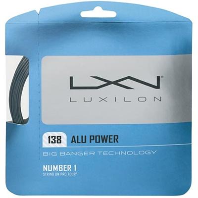 ウイルソン(Wilson) ルキシロン(LUXILON) アルパワー138(単張) シルバー WRZ998900 【テニス用品 ストリング ガット ウィルソン】の画像