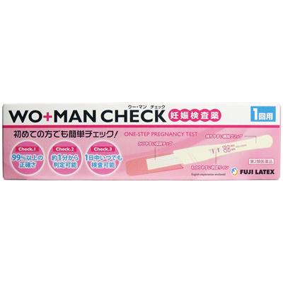 【第2類医薬品】ウー・マンチェック妊娠検査薬1回用
