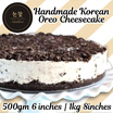 [Nunkkot Korean Dessert Cafe] Limited Time Offer! Handmade Korea Oreo Cheesecake