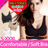 ★Comfortable Bra/Sports Bra/Genie Bra★High Quailty Genie Bra 3pcs Set/Push Up Bra/Sports Bra With Free gifts/Only today!!