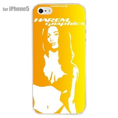 【iPhone5S】【iPhone5】【HAREM graphics】【iPhone5ケース】【カバー】【スマホケース】【クリアケース】 HGX-IP5C-006Dの画像