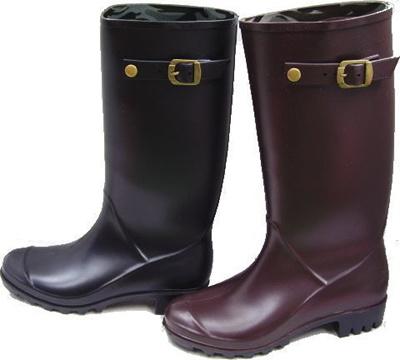 【送料無料】レディースラバーブーツ 879W レディスレインブーツ 長靴 レインブーツ 防水(A倉庫)の画像