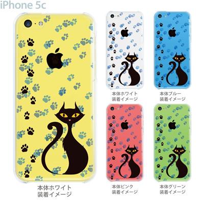 【iPhone5c】【iPhone5c ケース】【iPhone5c カバー】【ケース】【カバー】【スマホケース】【クリアケース】【クリアーアーツ】【ネコ】 21-ip5c-ca0013の画像