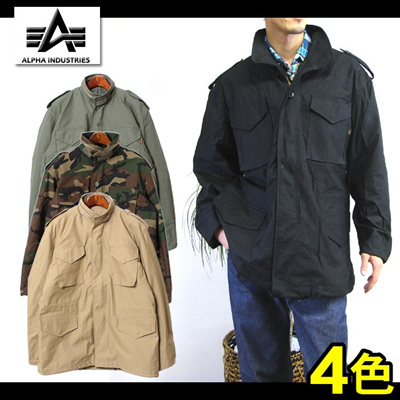ALPHA INDUSTRIES アルファ インダストリーズ M-65 フィールド ジャケット MJM24000C1 M-65 FIELD JACKET メンズの画像