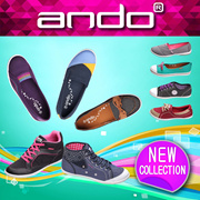 [FREE SHIPPING INDONESIA] ANDO NEW COLLECTION WOMEN KETS! GOOD QUALITY! sepatu wanita / sepatu kets