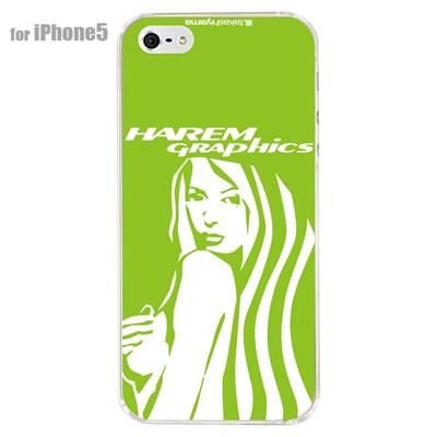 【iPhone5S】【iPhone5】【HAREM graphics】【iPhone5ケース】【カバー】【スマホケース】【クリアケース】 HGX-IP5C-019Bの画像