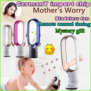 INTELLIGENT PURIFICATION!Original German import chip Bladeless fan Anion Function Remote control timing Super Silent No Blade Fan Home Appliance Air Conditioning Appliances Fans/Pure Cool Purifier Fan