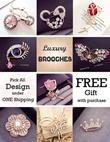 【Good Quality】Fast Delivery!!! Multi Design Korea Fashion Tudung Pin/Brooch/Scarf Pin