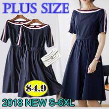 [Updated 4 January]2019 New Summer Korean Ladies Fashion Dress Plus Size Collection /Dress /Blouse/