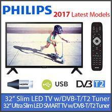 "Philips 32PHT4002 Slim LED TV / Philips 32PHT5102 32"" Smart TV  ★1 YEAR WARRANTY★ DVB-T/T2 Tuner"
