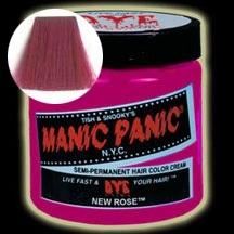 MANIC PANIC ニューローズ(New Rose)【送料無料】【マニックパニック ヘアカラー/MPカラー/毛染め/髪染め/発色/艶色/安全/118ml/赤/MC11026】